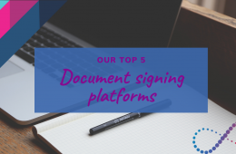 Our Top 5 document signing platforms
