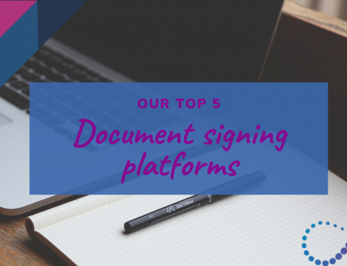 5 Online Document Signing Platforms to Help Your Business