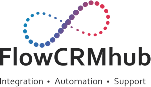 FLOW CRM HUB | Automation | Zoho Consultants Logo